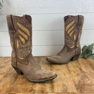 "Durango RD003 Womens 9.5M 12"" Western Boots"